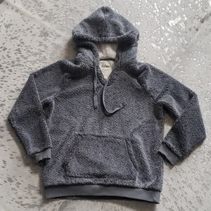 Dylan Sherpa Fleece Hoodie Pullover Small